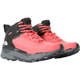 The North Face Vectiv Exploris FutureLight Mid Shoes Women, fiesta red/TNF black